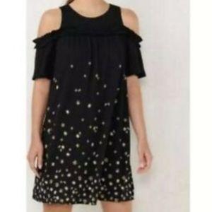 LC Lauren Conrad Cold Shoulder Dress